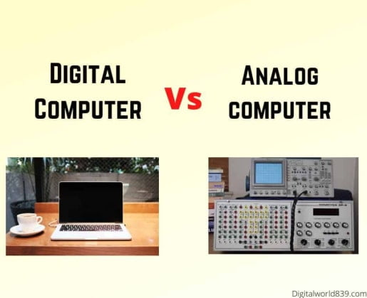 difference between digital and analog computer