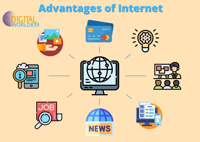 13 Key Advantages and Benefits of Internet in Daily Life.