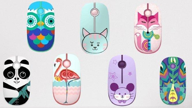 cute animal designed mouse