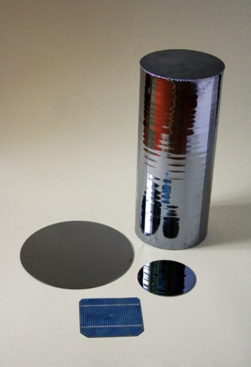 Electronic cylindrical silicon