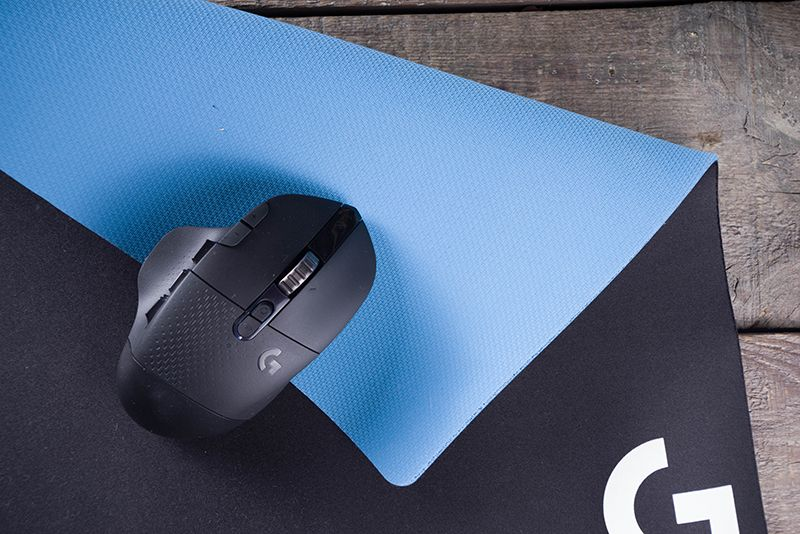 Tracking Performance with logitech g640 mousepad