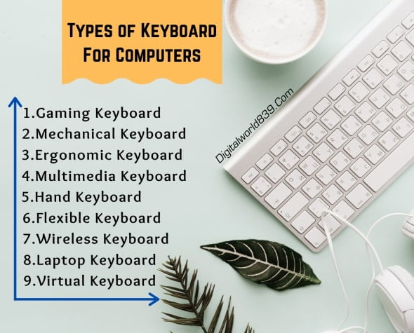 Types of Computer Keyboard