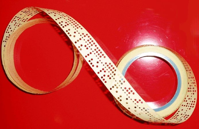 punched and magnetic tapes